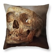 Doctor - Exam Cheat Sheet Throw Pillow by Mike Savad