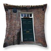 Doorway Detail Throw Pillow by John Chatterley