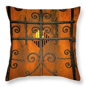 Doorway To Death Throw Pillow by Paul Ward