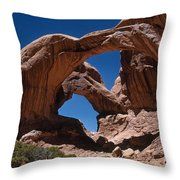 Double Arch Throw Pillow by Photo Researchers