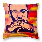 Dream Big Throw Pillow by Tony B Conscious