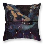 Dream Catcher Throw Pillow by Dorina  Costras
