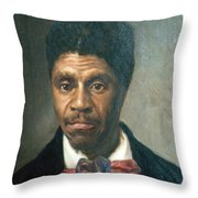 Dred Scott, African-american Hero Throw Pillow by Photo Researchers