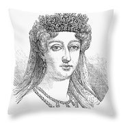 DUCHESS OF ANGOUL�ME Throw Pillow by Granger