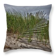 Dunes Throw Pillow by Rick Berk