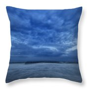Dusk On Fire Island Throw Pillow by Rick Berk