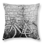 Eco Transport Throw Pillow by Georgia Fowler
