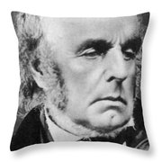 Edward Fitzgerald Throw Pillow by Science Source