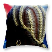Elegance Of Age Throw Pillow by Karen Wiles