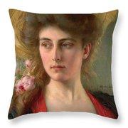 Elegante Throw Pillow by Albert Lynch