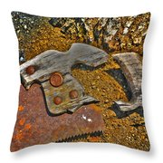 Elements Throw Pillow by Cheryl Young