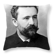 Emil Kraepelin, German Psychiatrist Throw Pillow by Science Source