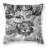 England: Reform, 1830 Throw Pillow by Granger
