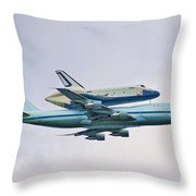 Enterprise 5 Throw Pillow by S Paul Sahm