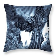 Eternally Doomed Throw Pillow by Marc Garrido