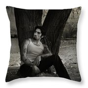 Everybody Needs A Little Time Away Throw Pillow by Laurie Search