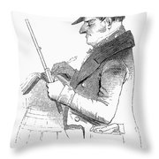 Exciseman, C1840 Throw Pillow by Granger