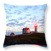 Exposing Daylight In Darkness Throw Pillow by Rick  Blood