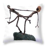 Exuberance Throw Pillow by Adam Long