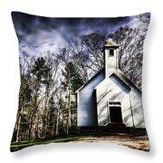 Fear Throw Pillow by Darren Fisher