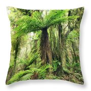 Fern Tree Throw Pillow by MotHaiBaPhoto Prints