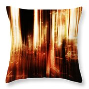 Fever Throw Pillow by Andrew Paranavitana