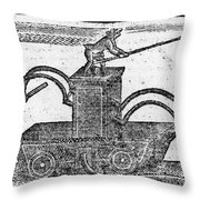 Fire Engine, 1769 Throw Pillow by Granger