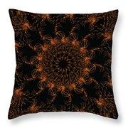Firestorm 6 Throw Pillow by Rhonda Barrett