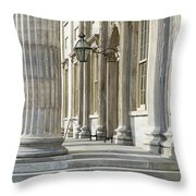 First Bank Of The United States Throw Pillow by John Greim
