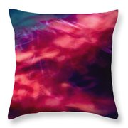 Flowers In The Wind Throw Pillow by Skip Nall