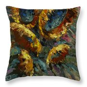 'follow The Sun 2' Throw Pillow by Michael Lang