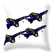 Formation Throw Pillow by Greg Fortier