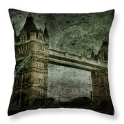 Former Sanctions Throw Pillow by Andrew Paranavitana