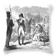 Fort Detroit: Surrender Throw Pillow by Granger