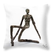 Fortitude Throw Pillow by Adam Long