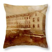 Fox River Mills Throw Pillow by Joel Witmeyer