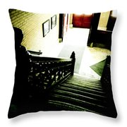 Foyer Throw Pillow by Jessica Brawley