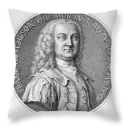 Francis Hutcheson Throw Pillow by Granger