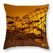 Free Fish Throw Pillow by JP Giarde
