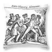 Freedman Enslaved, 1839 Throw Pillow by Granger