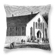 FREEDMEN SCHOOL, 1867 Throw Pillow by Granger