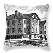 Freedmen School, 1868 Throw Pillow by Granger
