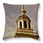 Freedom Rings Throw Pillow by Tom Gari Gallery-Three-Photography
