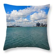 From Belle Isle With Love Throw Pillow by Robin Konarz