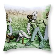 Fugitive Slave Law Throw Pillow by Photo Researchers