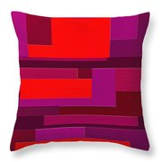 Funky Throw Pillow by Ely Arsha