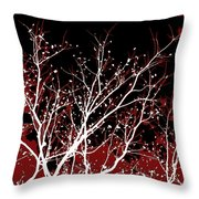 Genesis Throw Pillow by Glennis Siverson