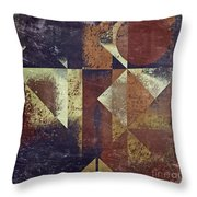 Geomix 04 - 6ac8bv2t7c Throw Pillow by Variance Collections