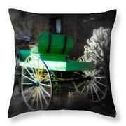 Ghost Rider  Throw Pillow by Susanne Van Hulst