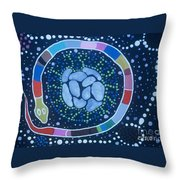 Giving Life Throw Pillow by Pat Saunders-White